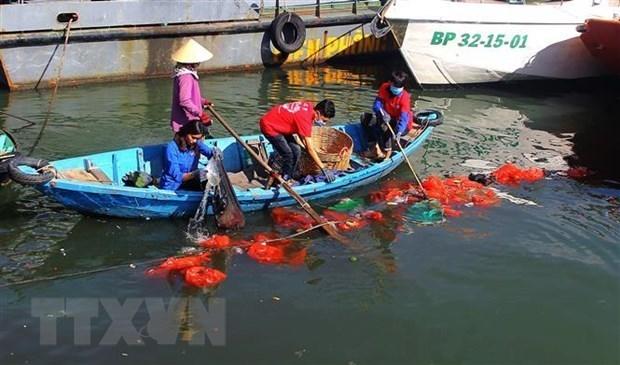 Proyecto vietnamita sobre la reduccion de contaminacion por desechos plasticos recibe patrocinio en concurso regional hinh anh 1