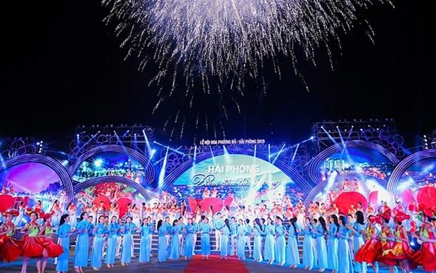 Celebraran en Hai Phong Festival de Flores de Flamboyan 2021 hinh anh 1