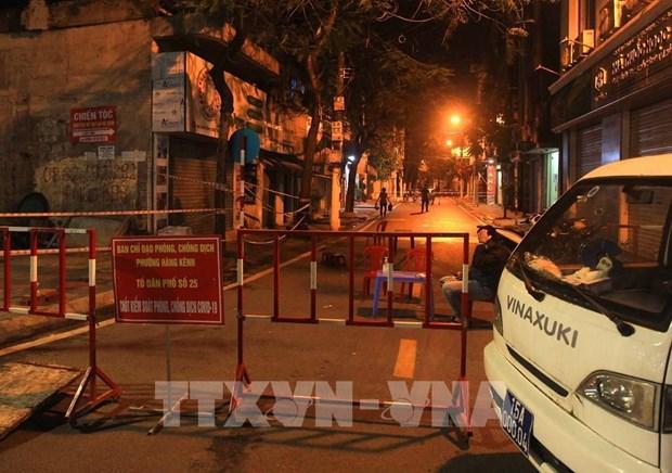 COVID-19: Detectan cinco casos de F1 en ciudad de Hai Phong hinh anh 1