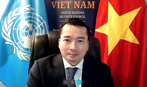 Vietnam apoya el fortalecimiento de cooperacion entre ONU y OSCE hinh anh 1