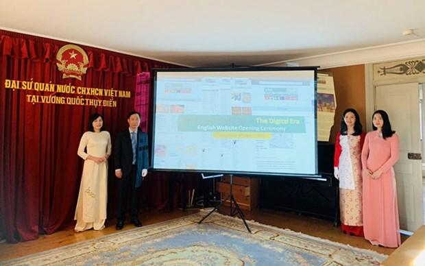 Presentan pagina web de Vietnam en ingles para empresas nordicas hinh anh 1