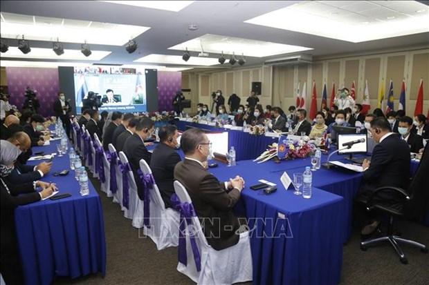 Ministros de informacion de la ASEAN debaten sobre la comunidad digital hinh anh 1