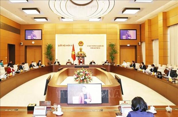 Efectuaran Reunion 54 del Comite Permanente del Parlamento de Vietnam hinh anh 1