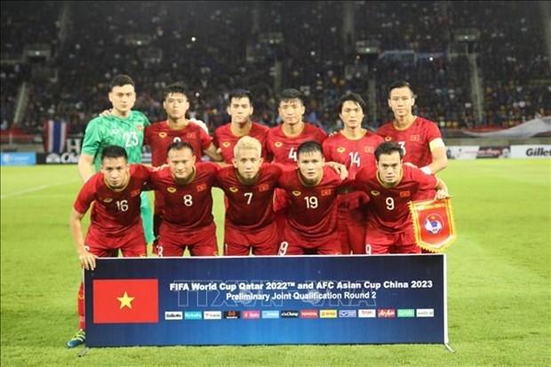 Vietnam jugara las eliminatorias de la Copa Mundial en EAU hinh anh 1