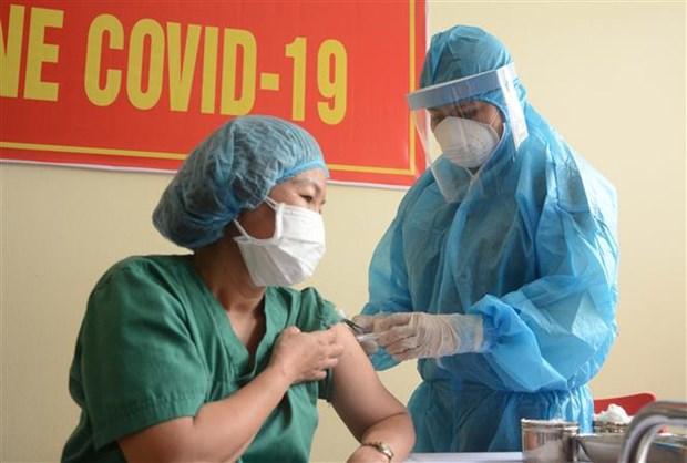 Ciudad vietnamita de Da Nang inicia vacunacion contra el COVID-19 hinh anh 1