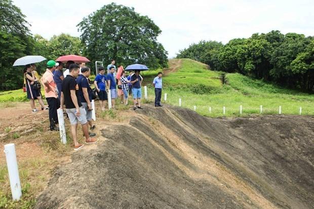 Construyen templo de martires en complejo de reliquias historicas Dien Bien Phu hinh anh 1