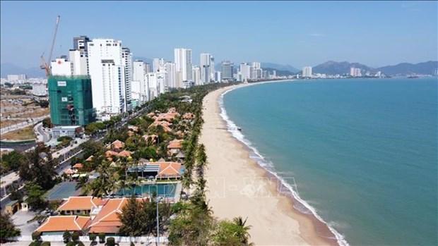 Provincia vietnamita de Khanh Hoa por ampliar la playa publica hinh anh 1