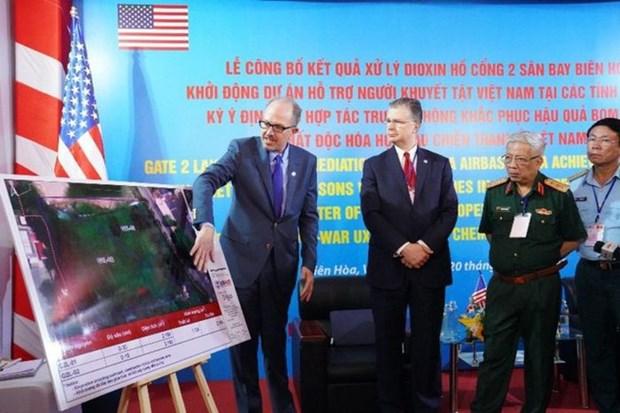 EE.UU. anuncia contratista principal para proyecto de tratamiento de dioxinas en aeropuerto de Bien Hoa hinh anh 2