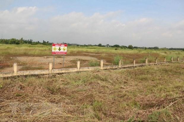 EE.UU. anuncia contratista principal para proyecto de tratamiento de dioxinas en aeropuerto de Bien Hoa hinh anh 1
