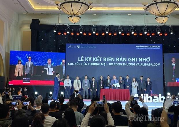 Vietnam apoya a empresas exportadorea a traves de cooperacion con el Grupo Alibaba hinh anh 1