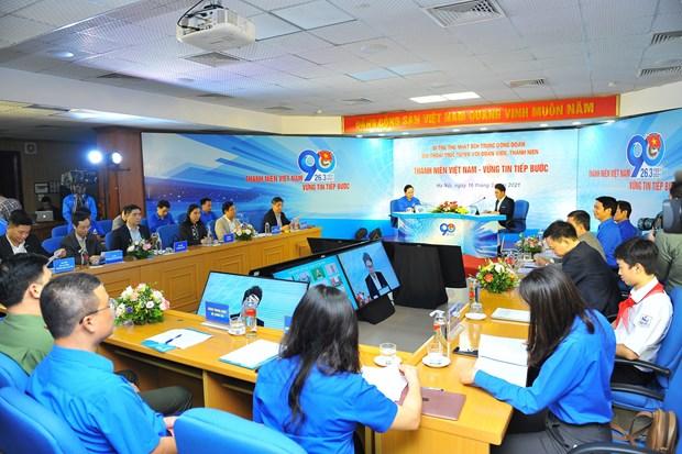 Resaltan aportes de jovenes vietnamitas al desarrollo nacional hinh anh 1