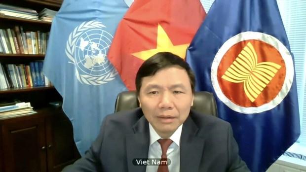 Vietnam insta a fortalecer el dialogo para apoyar al pueblo sirio hinh anh 1