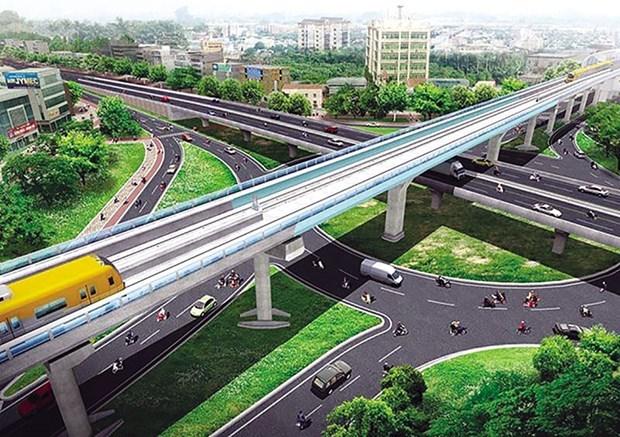 Hanoi planea movilizar millones de dolares para construccion de metro hinh anh 1