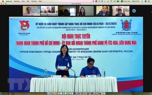 Jovenes vietnamitas y rusos refuerzan cooperacion en nuevo contexto hinh anh 1
