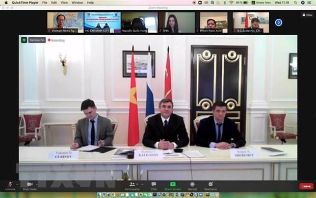 Jovenes vietnamitas y rusos refuerzan cooperacion en nuevo contexto hinh anh 2