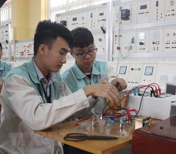 Ciudad Ho Chi Minh ofrece capacitacion vocacional gratuita a afectados por el COVID-19 hinh anh 1