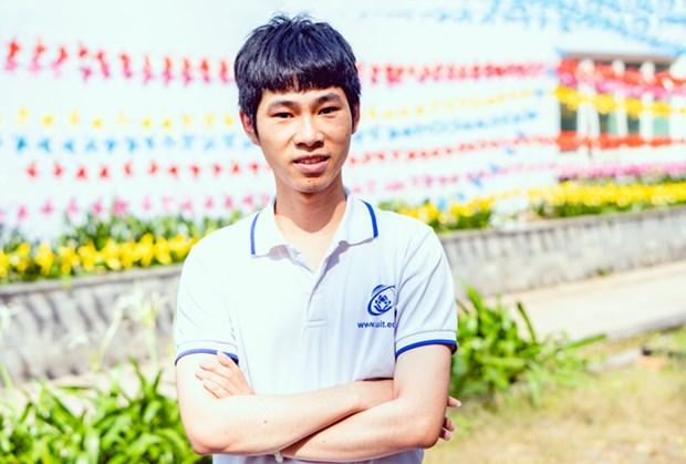 Estudiante vietnamita gana tercer premio en Olimpiada Internacional de Microelectronica hinh anh 1