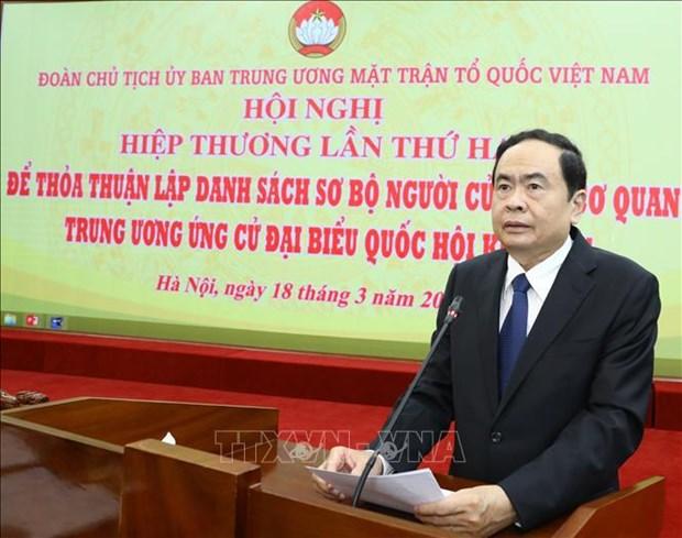 Celebran segunda conferencia consultiva en preparacion de las proximas elecciones en Vietnam hinh anh 2