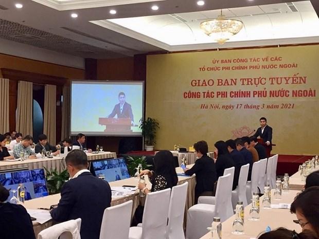 Vietnam fortalece cooperacion con organizaciones no gubernamentales foraneas hinh anh 1