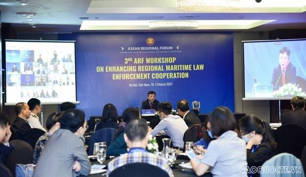 Vietnam insta a fortalecer cooperacion regional en ejecucion de leyes maritimas hinh anh 2