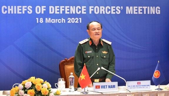 Vietnam participara en la XVIII reunion de Jefes de Fuerzas de Defensa de la ASEAN hinh anh 1