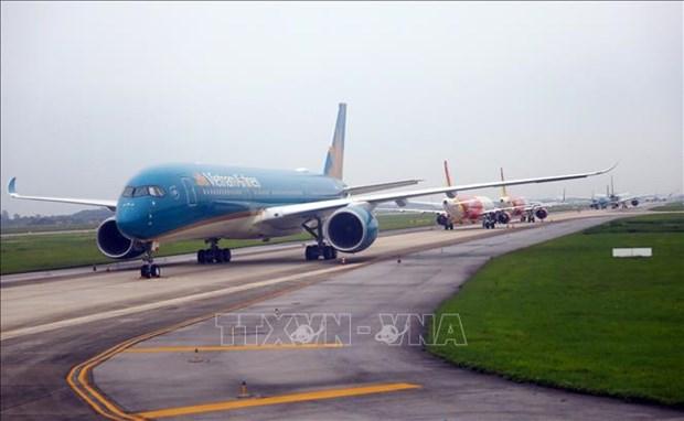 Aerolineas vietnamitas aumentan vuelos de rutas nacionales hinh anh 1