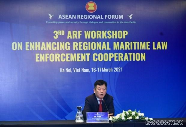Vietnam insta a fortalecer cooperacion regional en ejecucion de leyes maritimas hinh anh 1