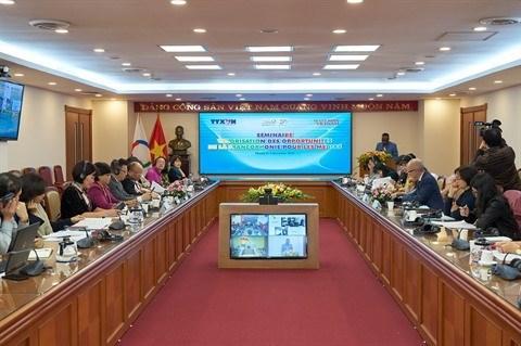 Promueven en Vietnam espacio economico francofono dinamico hinh anh 3