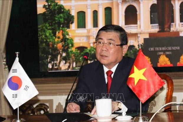 Ciudad Ho Chi Minh y provincia surcoreana de Jeolla del Norte impulsan cooperacion hinh anh 1
