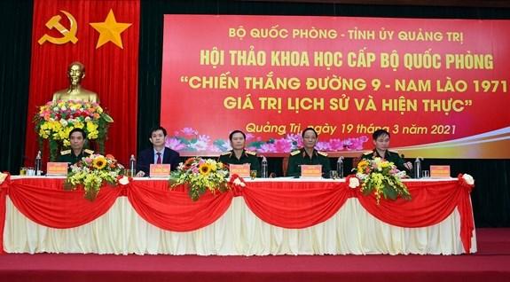 Taller cientifico honra victoria historica del ejercito vietnamita hinh anh 1