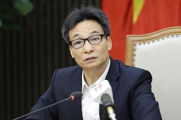 """Discuten medidas destinadas a aplicacion de """"pasaporte de vacunas"""" en Vietnam hinh anh 2"""