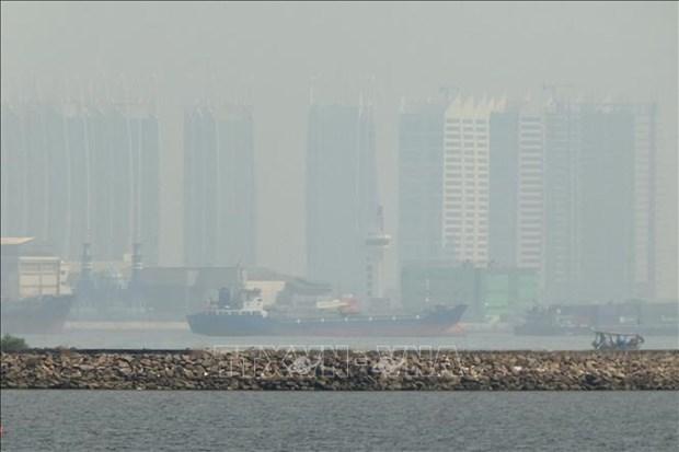 Indonesia encabeza la lista de ciudades mas contaminadas del Sudeste Asiatico hinh anh 1