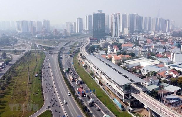 Linea 1 del metro en Ciudad Ho Chi Minh se completara despues de 2021 hinh anh 1