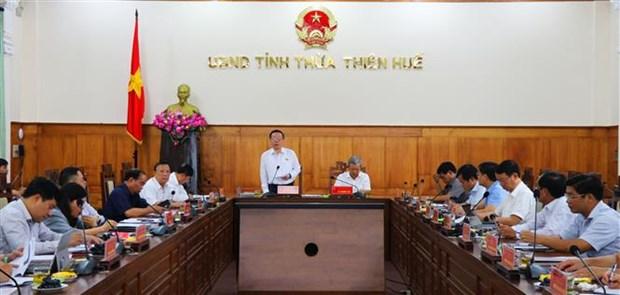 Examinan preparativos para las proximas elecciones legislativas en provincia vietnamita hinh anh 1