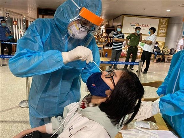 Registra Vietnam un nuevo caso importado de COVID-19 hinh anh 1