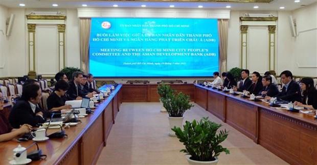 Banco Asiatico de Desarrollo, socio principal de Ciudad Ho Chi Minh hinh anh 1