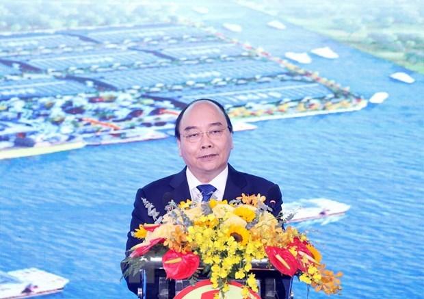 Premier exige a provincia vietnamita de Long An garantizar desarrollo sostenible hinh anh 1