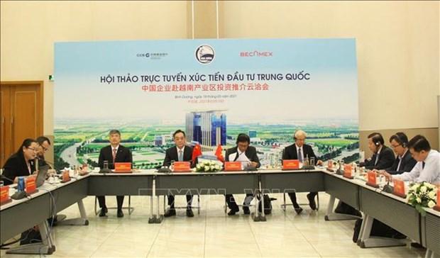 Promueven inversiones chinas en provincia vietnamita de Binh Duong hinh anh 2