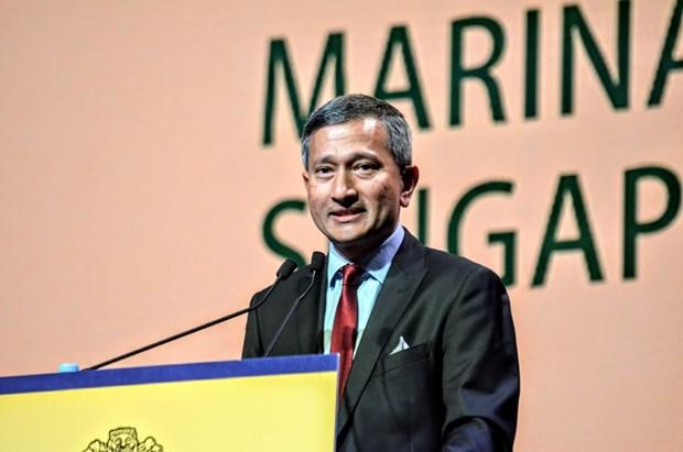 Canciller de Singapur realiza periplo por tres paises del Sudeste Asiatico hinh anh 1
