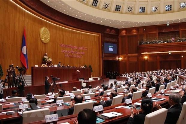 Laos inaugura primer periodo de sesiones del Parlamento de la IX legislatura hinh anh 1