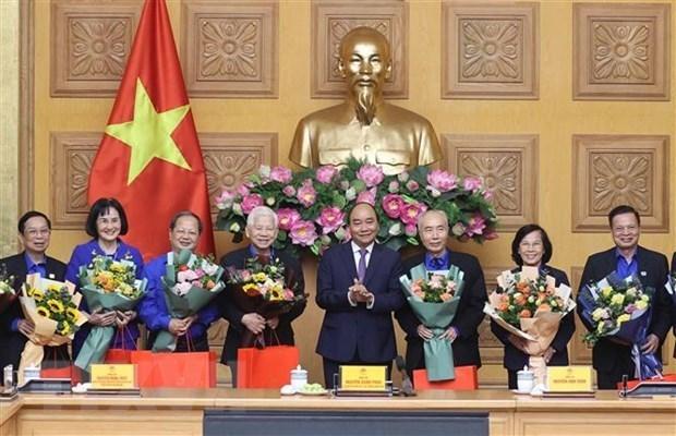 Recibe premier de Vietnam a generaciones de miembros de Union de Jovenes Comunistas hinh anh 1