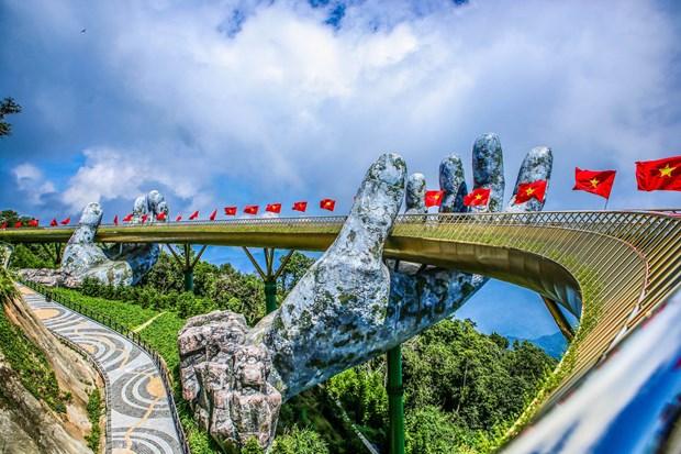 Puente Dorado en Vietnam lidera la lista de