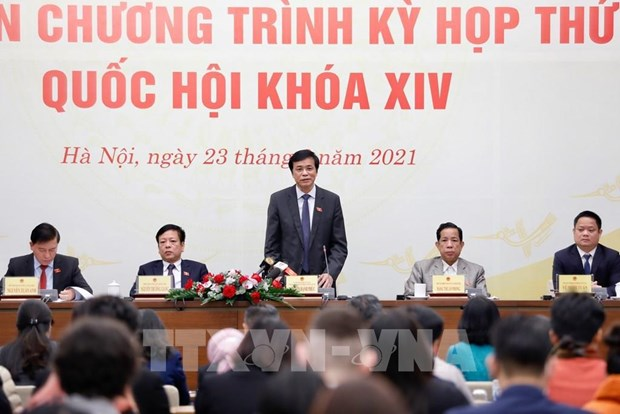 Asamblea Nacional de Vietnam completara puestos de liderazgo del Estado hinh anh 1