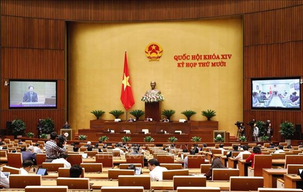 Inauguraran manana ultimo periodo de sesiones del Parlamento vietnamita de la XIV legislatura hinh anh 1