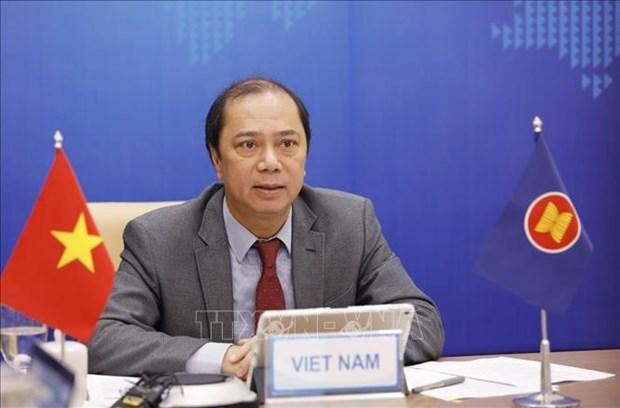Vietnam a intensificar cooperacion maritima ASEAN-Nueza Zelanda hinh anh 1