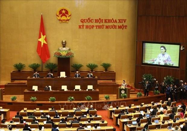 Inauguran XI periodo de sesiones del Parlamento de Vietnam hinh anh 1