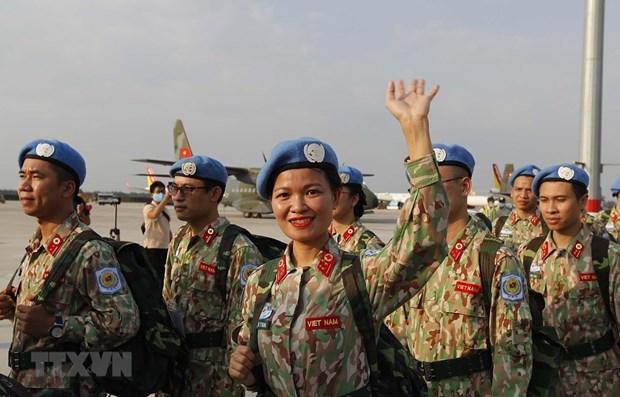 Parte tercer hospital de campana de Vietnam para mision de mantenimiento de la paz en Sudan del Sur hinh anh 1