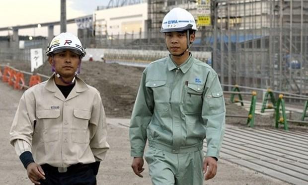 Japon reconoce a cuatro trabajadores vietnamitas de construccion por sus excelentes logros hinh anh 1
