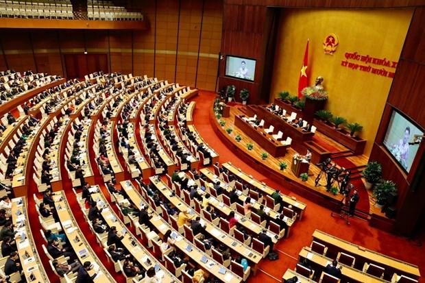 XI periodo de sesiones parlamentarias pavimenta desarrollo del aparato estatal vietnamita hinh anh 2