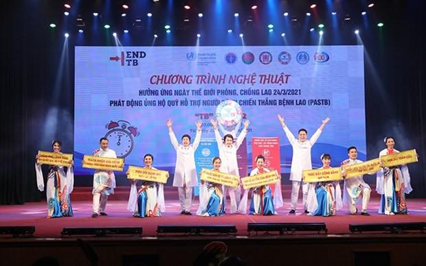 Programa artistico busca elevar conciencia sobre lucha contra la tuberculosis en Vietnam hinh anh 1